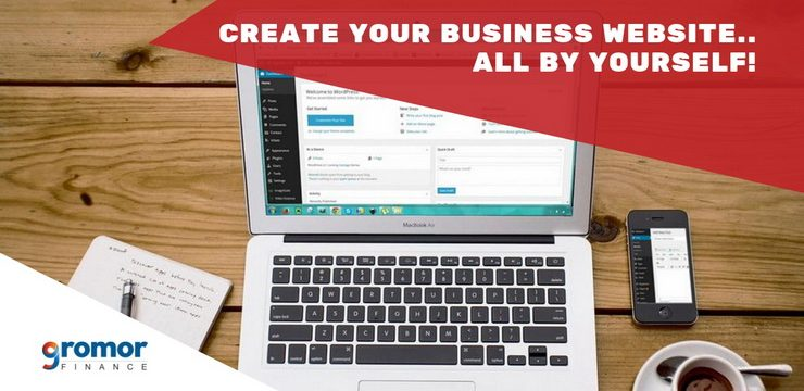 How To Create Your Business Website Easily By YOURSELF?