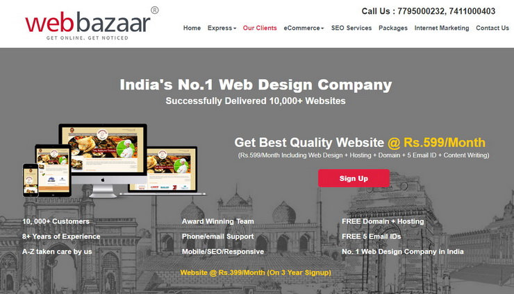 host-your-website-with-webbazaar