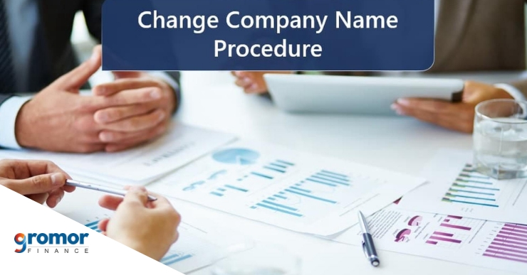 How to change company name