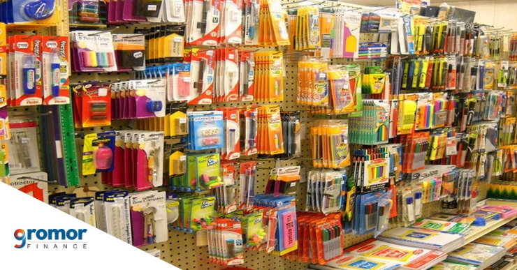 Steps to start a stationery store